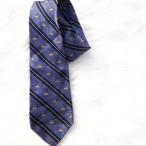 Brooks Brother silk sheep blues tie